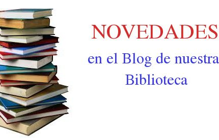 Novedades Biblioteca