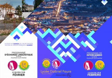 Intercambio lingüístico Guadix – Tournon Sur Rhône