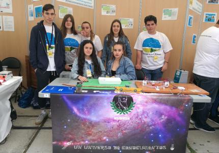 Nuestros alumnos en el Parque de las Ciencias de Granada