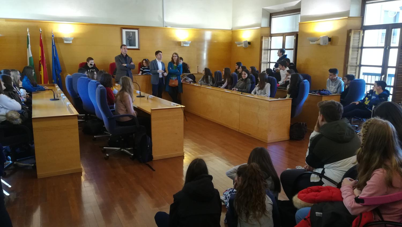 Recepción de alumnos/as franceses del programa de intercambio