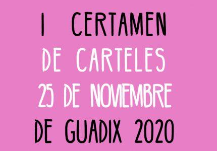 Ganadoras del I Certamen de carteles '25 de Noviembre'
